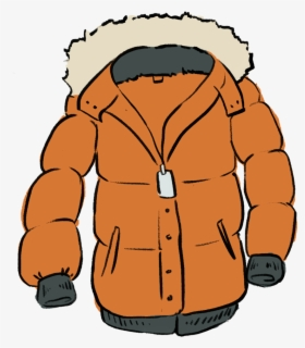 Free Winter Coat Clip Art with No Background.