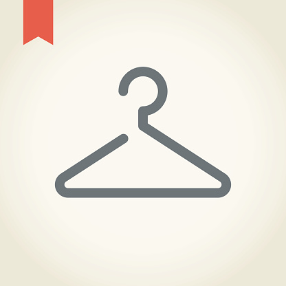 Coat Hanger Clip Art, Vector Images & Illustrations.