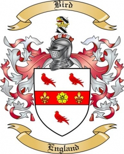 Bird Family Crest from England by The Tree Maker.