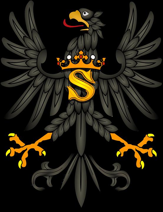 Free photo Symbol Coat Of Arms Eagle Bird King Coat Animal.