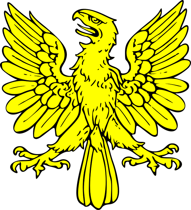 Coat, Of, Arms, Bird.