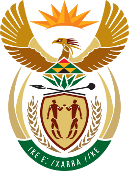 Coat of arms of South Africa.