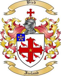 Bird Family Crest from Ireland by The Tree Maker.
