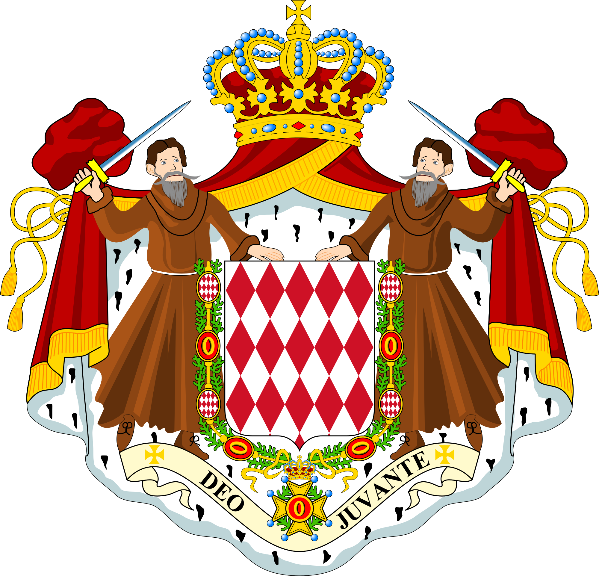 File:Coat of arms of Monaco.svg.