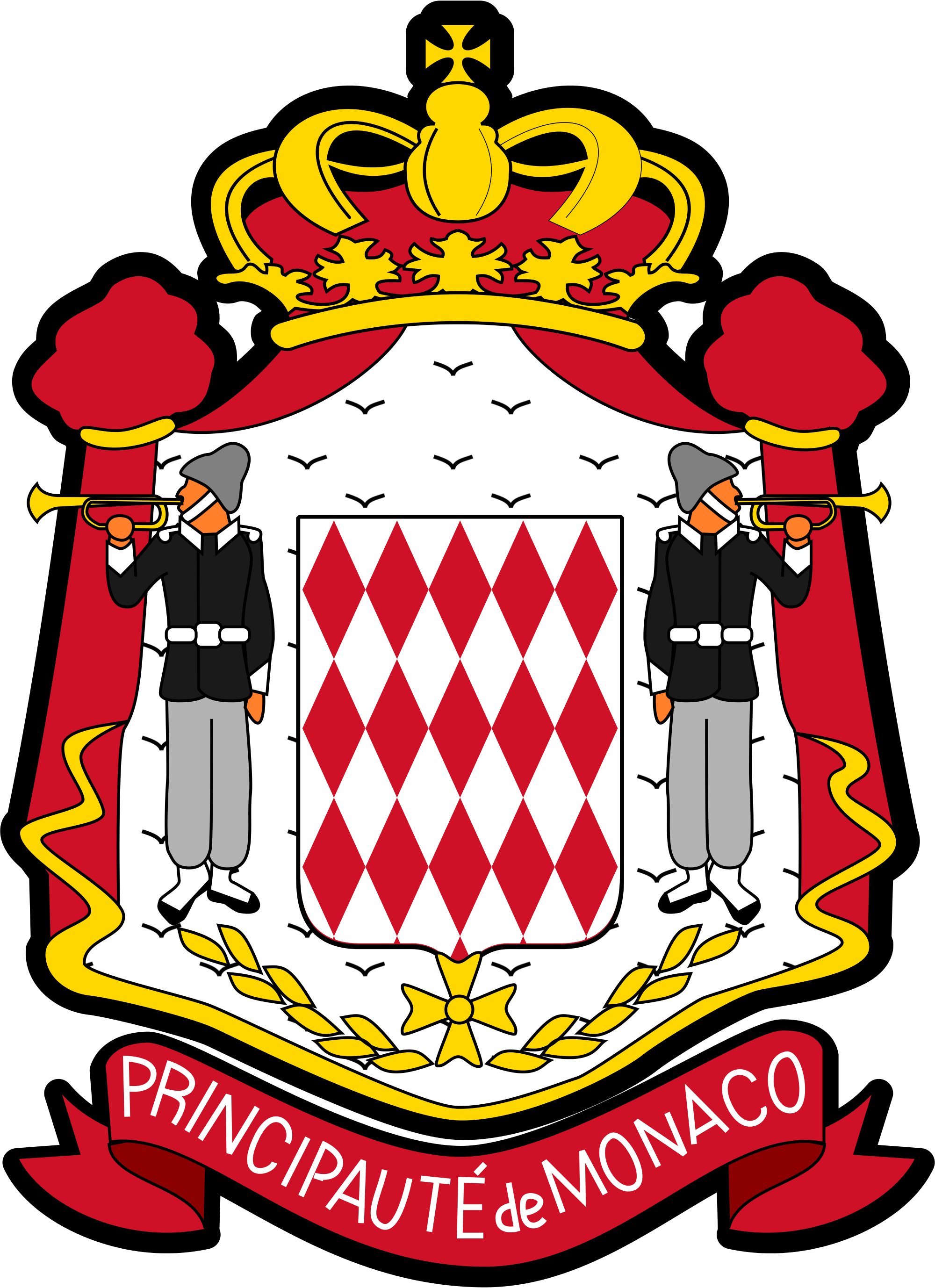 File:Coat of arms of Monaco (version).svg.