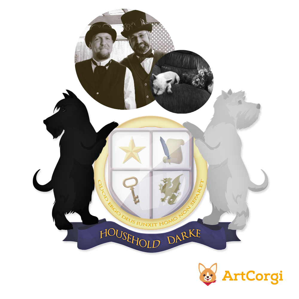 A Modern Family Coat of Arms.