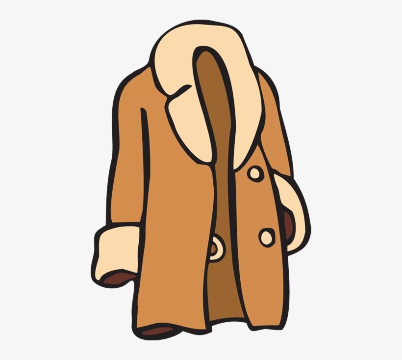 Fur Coat Clipart.