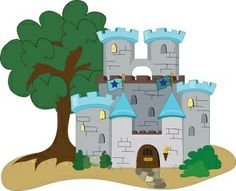 Free clip art castles medieval castle clip art for family coat 2.