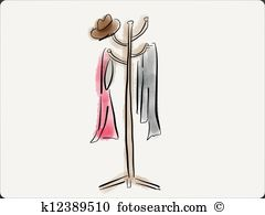 Coat rack Illustrations and Stock Art. 368 coat rack illustration.