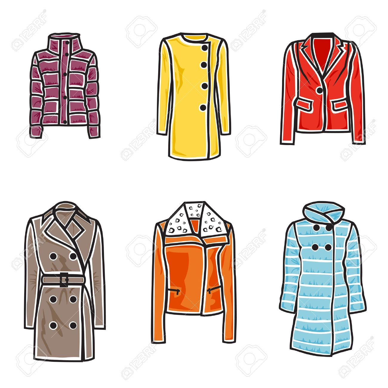 coats clipart clipground