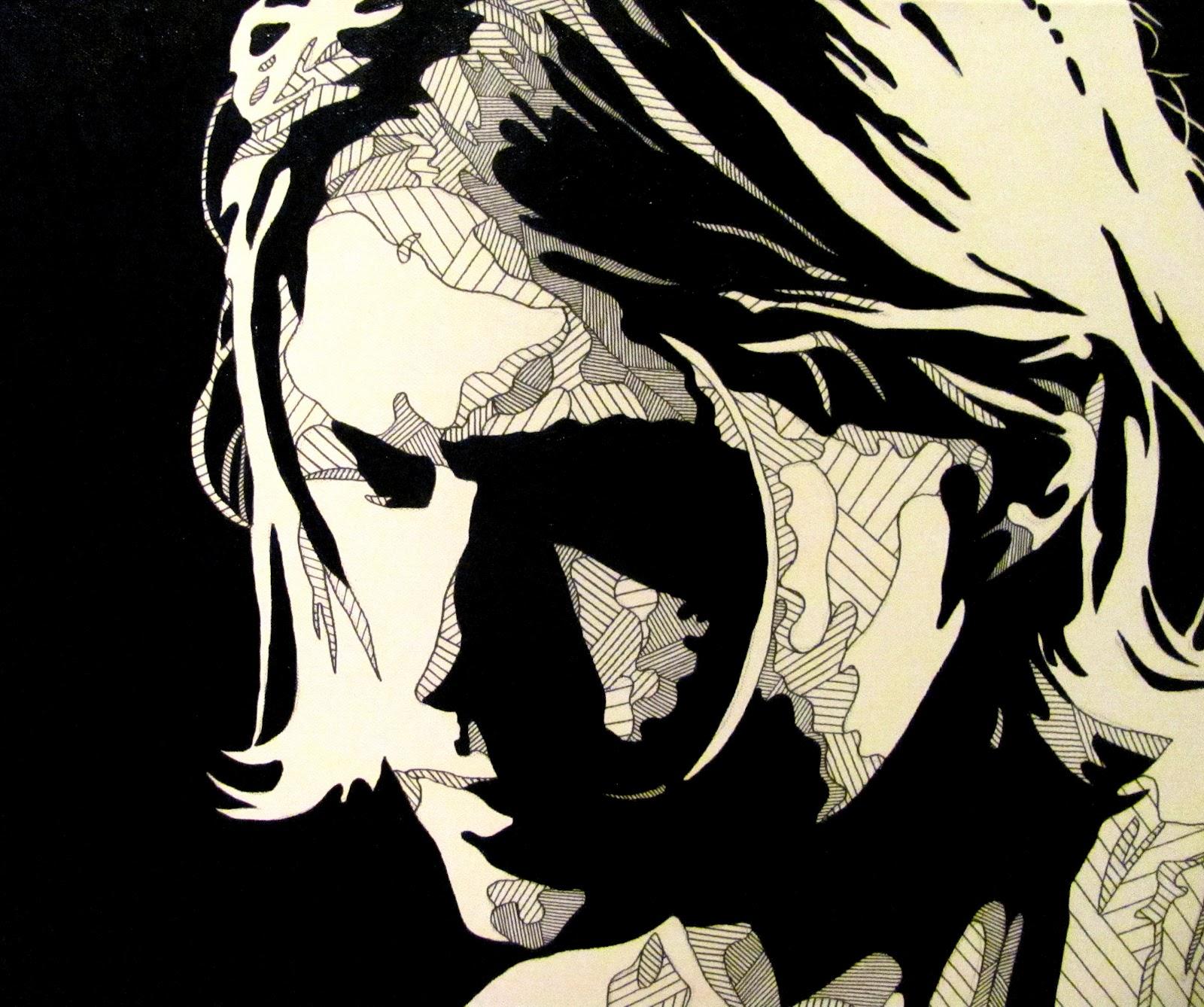 Gallery For > Kurt Cobain Clipart.