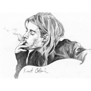 Kurt cobain hd clipart.