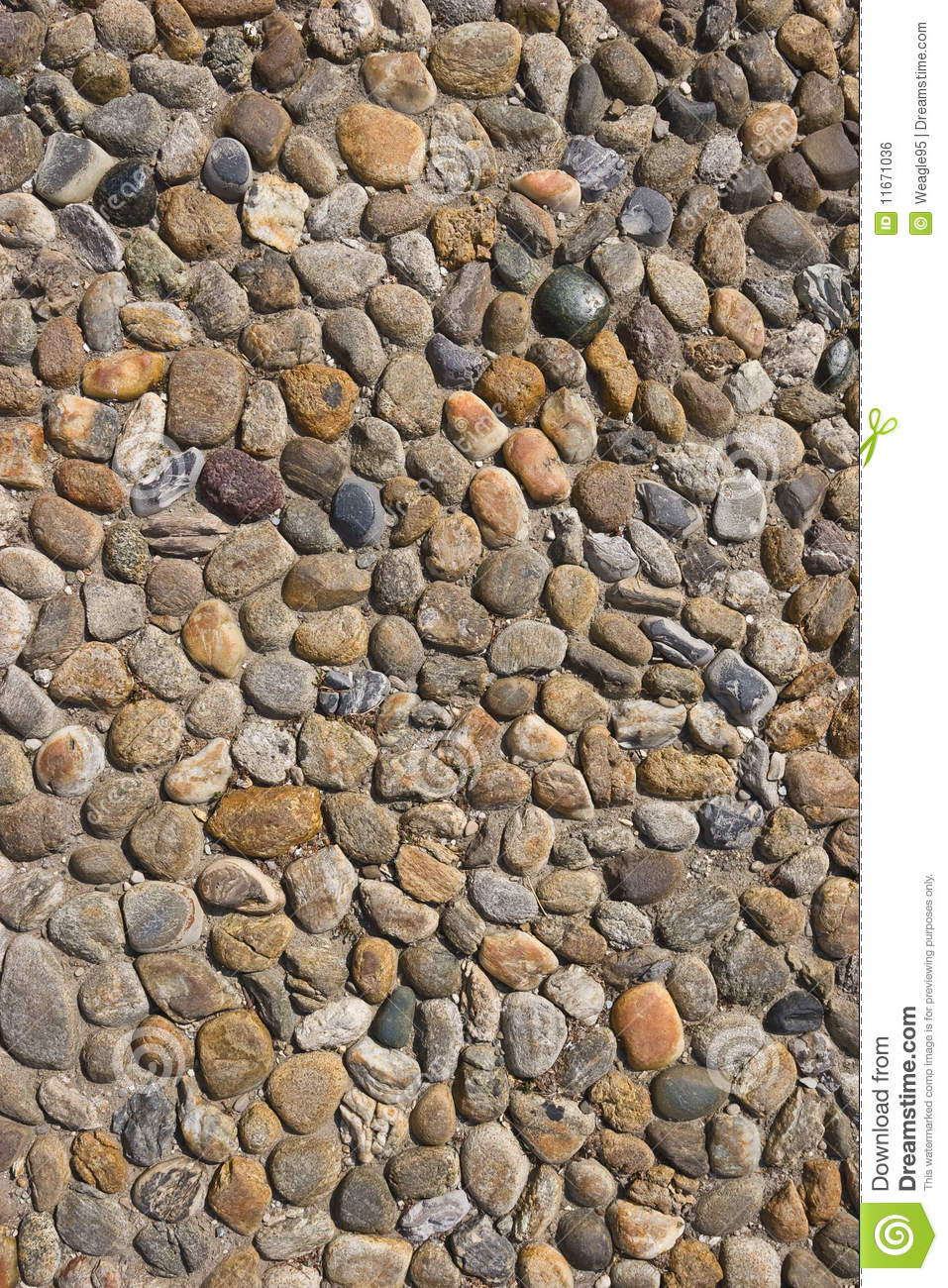 Cobblestone road clipart.