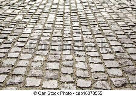 Stock Images of cobblestone pavement.