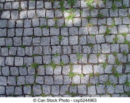Stone path clipart.
