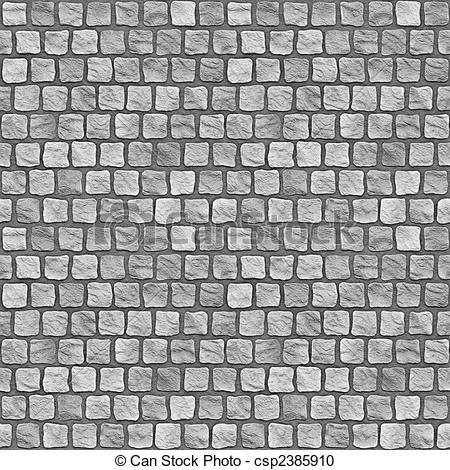 Stock Illustration of Cobblestones.