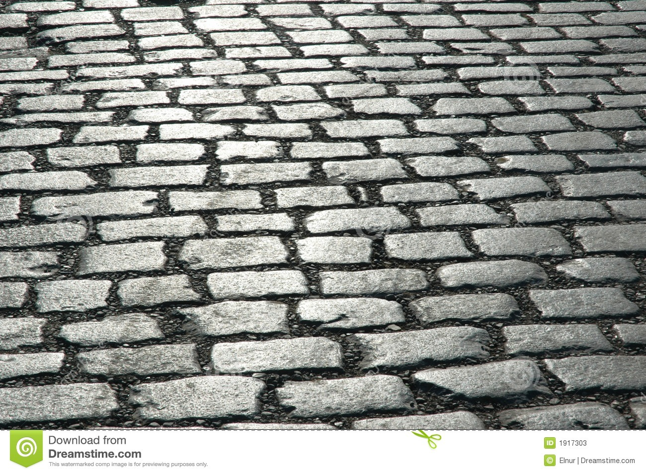 Cobbles On The Street.