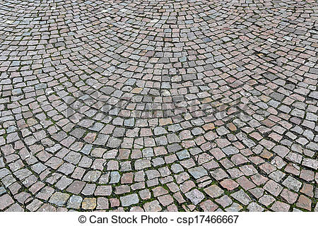 Stock Image of Cobbled street.