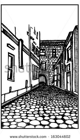 Cobblestone Street Stock Vectors, Images & Vector Art.