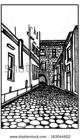 Cobblestone Street Stock Vectors, Images & Vector Art.