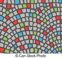Cobbles Vector Clipart Royalty Free. 554 Cobbles clip art vector.