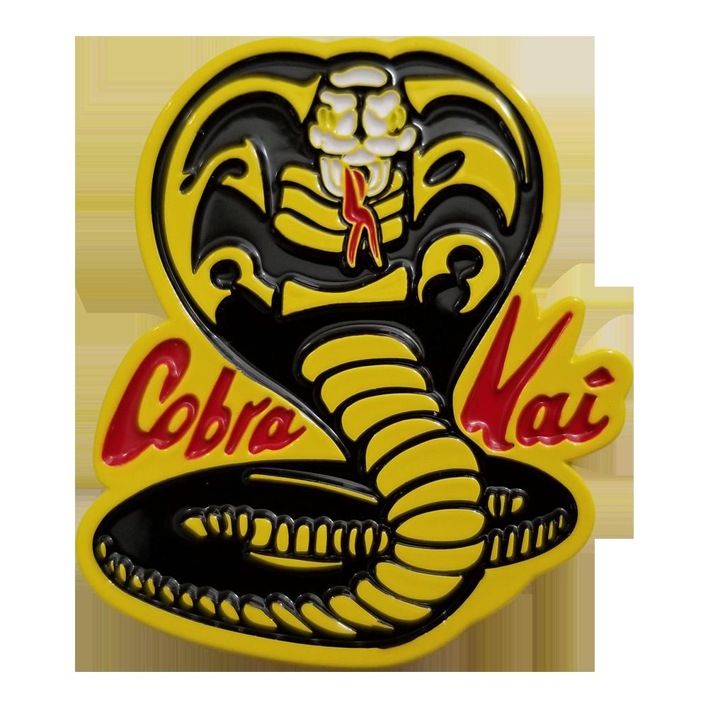 The Karate Kid Cobra Kai Logo Enamel Pin.