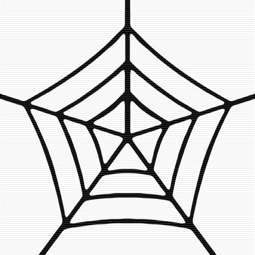 Cobweb clipart free.