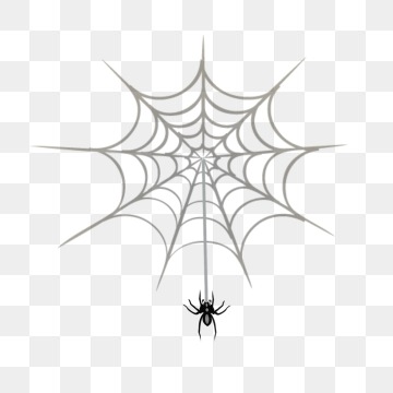 Cartoon Spider Web PNG Images.