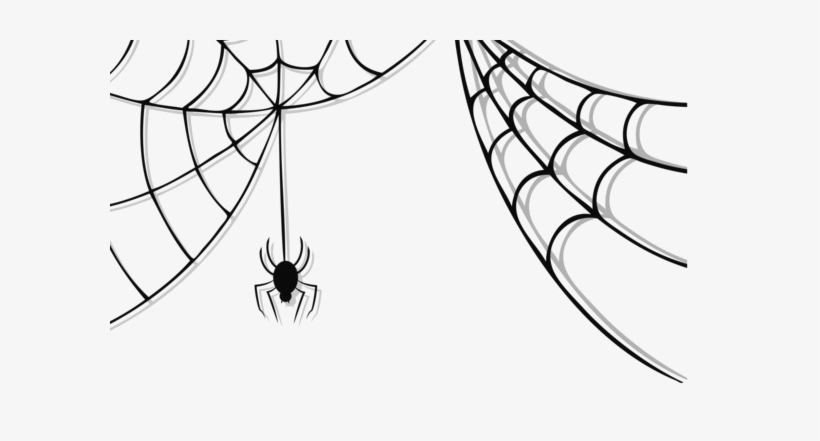 Halloween Spider Web Vector Free Png Photo.