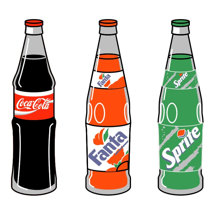 Coca cola clip art.