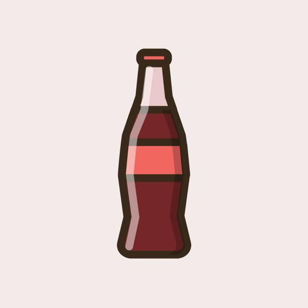 Best Coke Bottle Illustrations, Royalty.