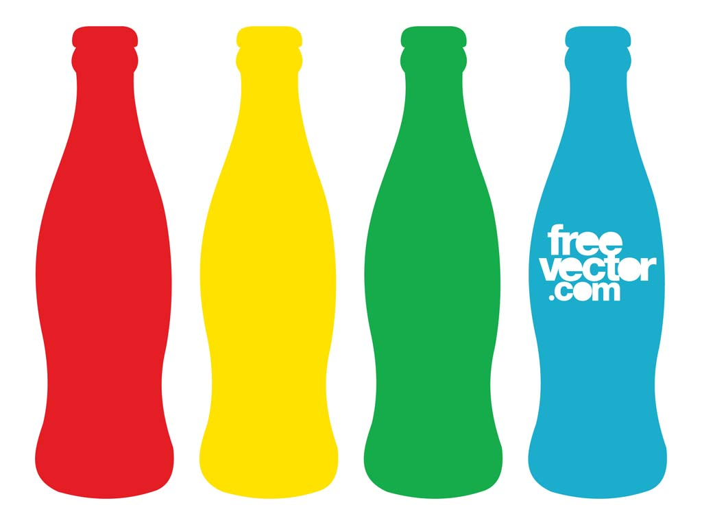 Coca Cola Bottle Clip Art N2 free image.