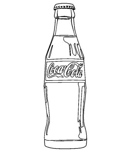 Coca Cola Clipart Black And White Food coloring on pinterest.