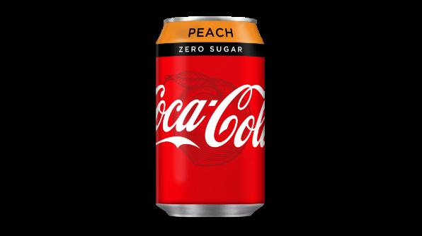 Life just got peachy! Coca.