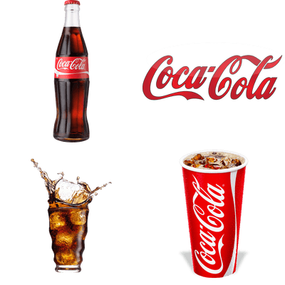 Coca Cola transparent PNG images.
