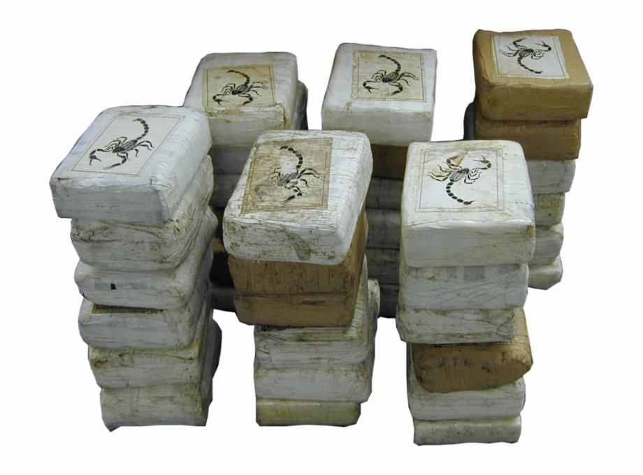 Cocaine Bricks.