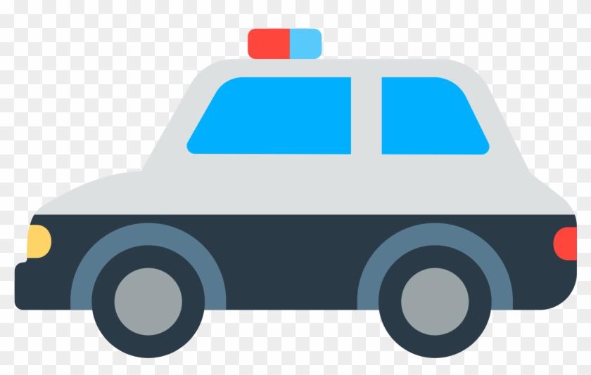 Coche Policia Emoji.
