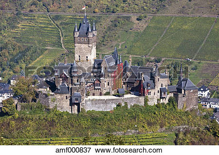 Picture of Germany, Rhineland Palatinate, View of Imperial Castle.