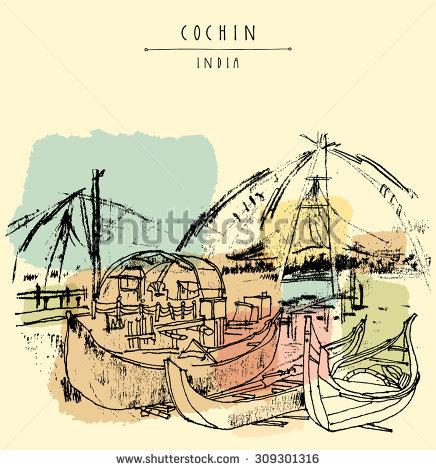Fort Cochin Stock Vectors & Vector Clip Art.
