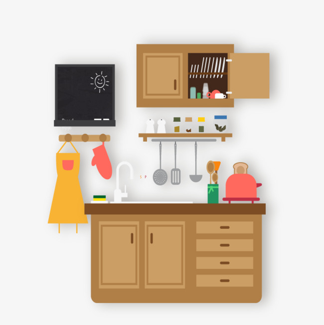 Download Free png Vector Kitchen, Hd, Vector, Kitchen Tools PNG and.
