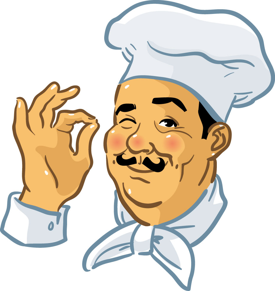 Chef clip art free clipart images clipartcow.