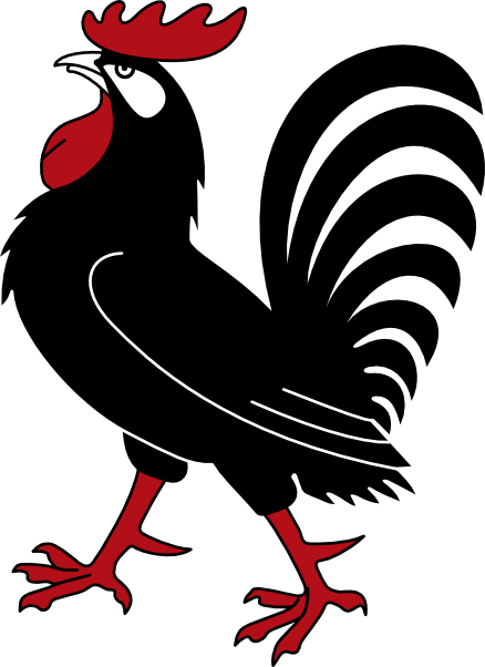 Fighting Rooster Clipart.