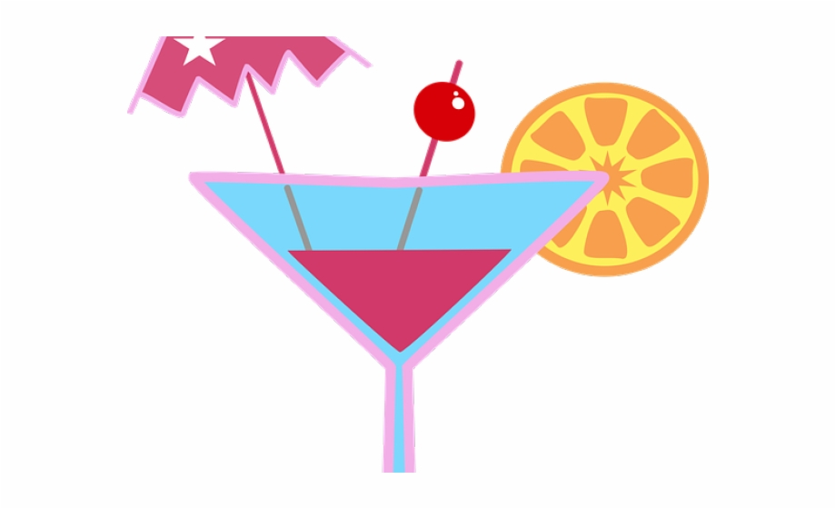 Cocktail Clipart Cosmopolitan Drink Clipart Cocktail Glass.