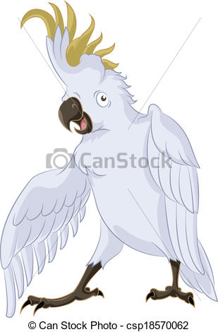 Cockatoo Illustrations and Clip Art. 405 Cockatoo royalty free.