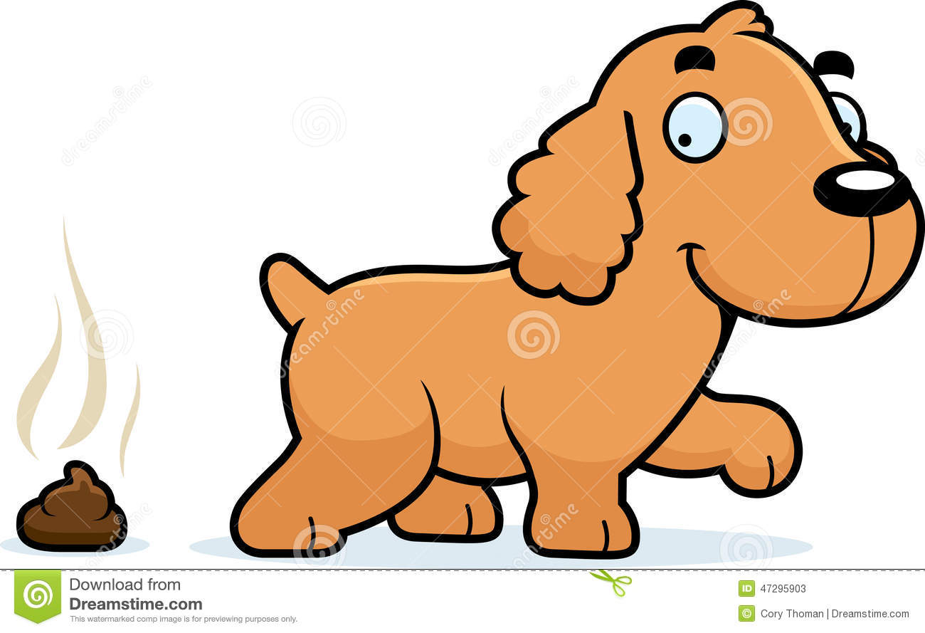 Smiling British Cocker Spaniel Stock Illustrations.