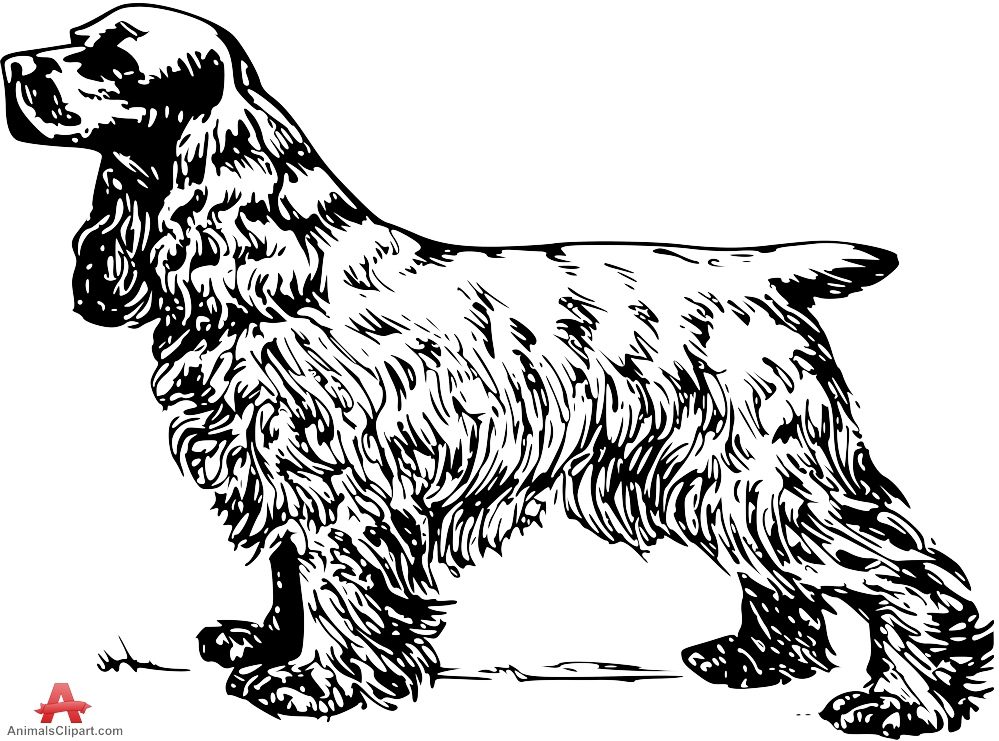 Free Black Spaniel Cliparts, Download Free Clip Art, Free.