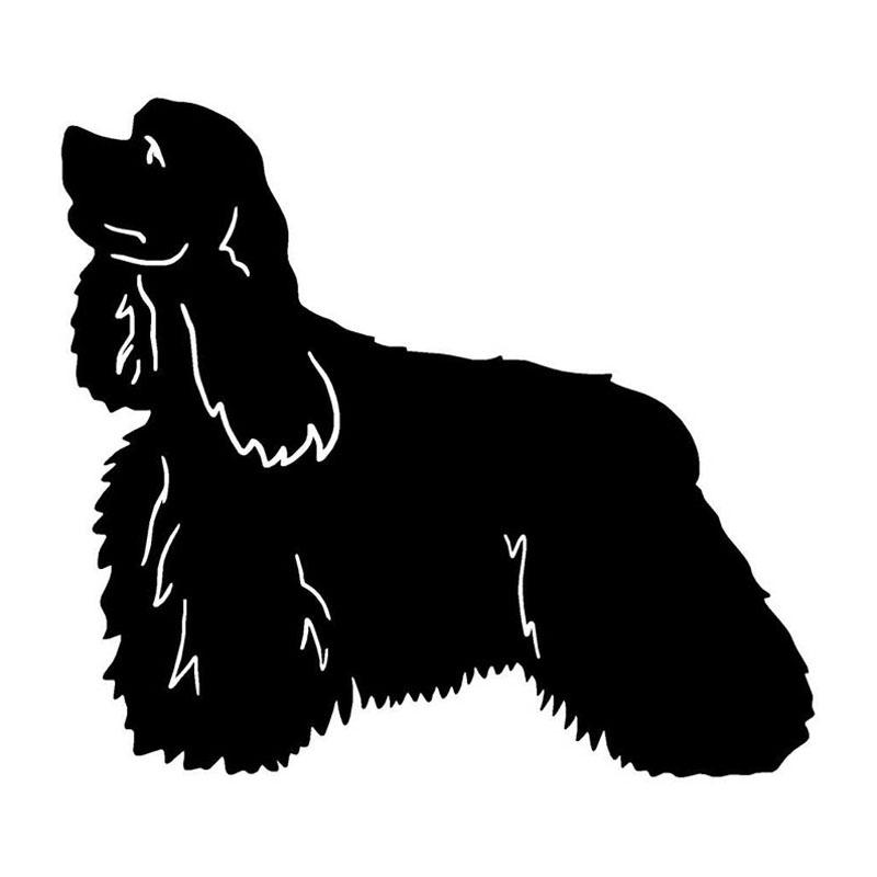 Download cocker spaniel silhouette clipart English Cocker Spaniel.