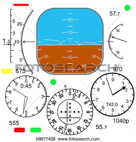 Cockpit Clipart and Illustration. 806 cockpit clip art vector EPS.