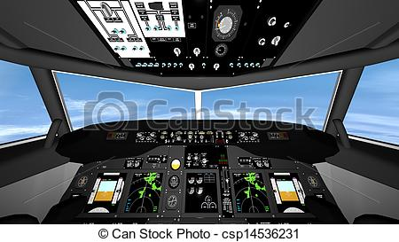 Cockpit Illustrations and Clip Art. 2,036 Cockpit royalty free.