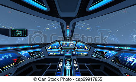Stock Illustrations of Cockpit.